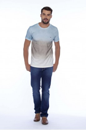 Camiseta Slim Degradê