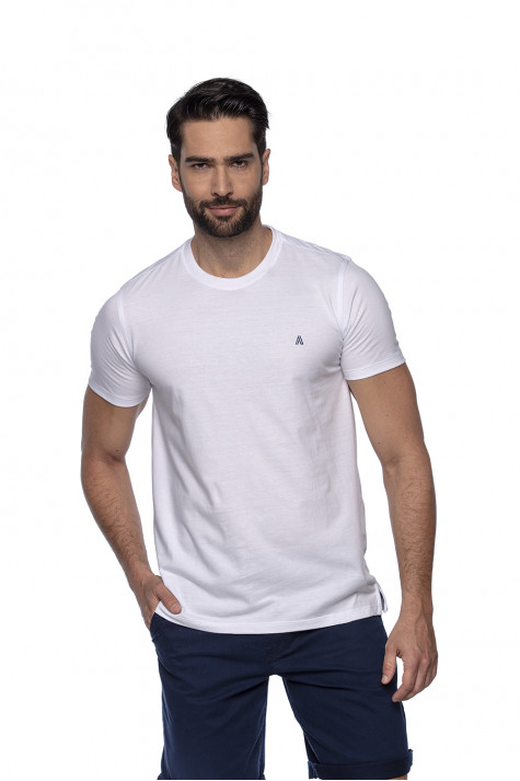 Camiseta Casual Fundamental Branca