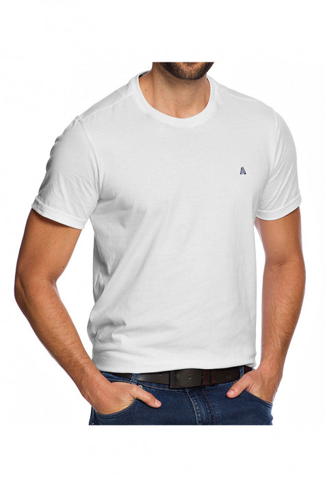 Camiseta Casual Fundamental Branca Básica