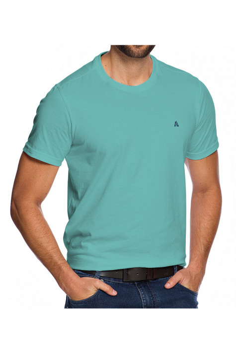 Camiseta Casual Fundamental Azul Esverdeado